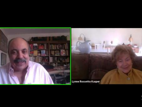 Fred Plotkin on Fridays: Lynne Rossetto Kasper, Legendary Food Writer