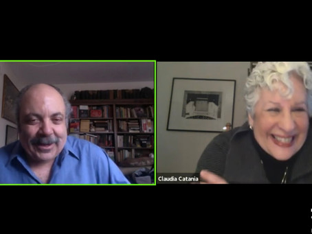 Fred Plotkin on Fridays: Claudia Catania, Singer/Actor in Opera and on Broadway