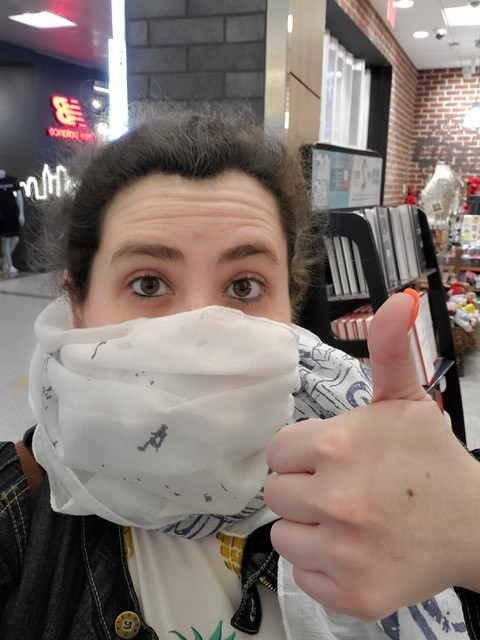 I was masking up in airports before mask mandates were a thing