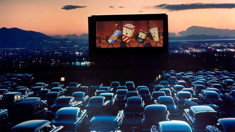 Outdoor drive-in theatres replaced the indoor theatrical experience at the height of the pandemic