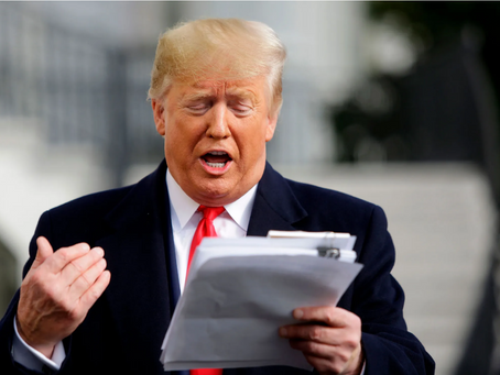 Trump Files Lawsuit After Finishing New York Times Story He Started in 2018