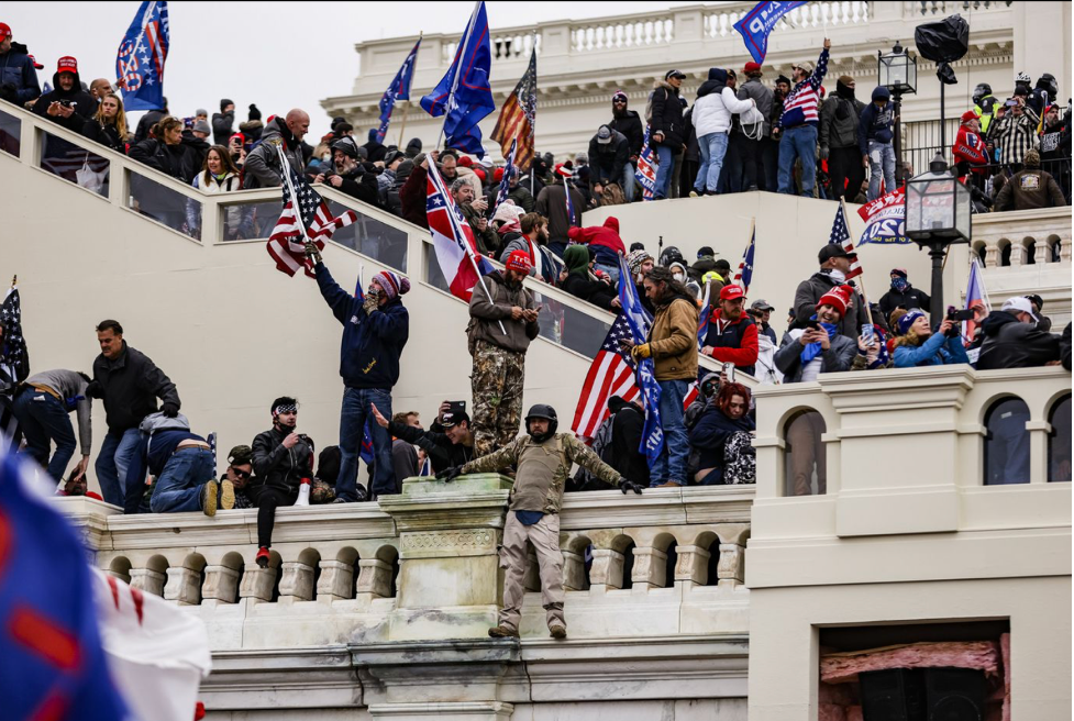 Chaos at the Capitol on January 6