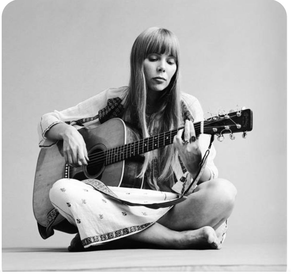 Joni Mitchell in the '70s