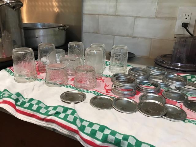 Sterilize the jars and lids