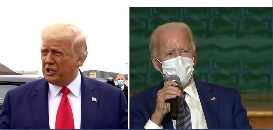 Warring agendas: Trump and Biden both visited Kenosha this week
