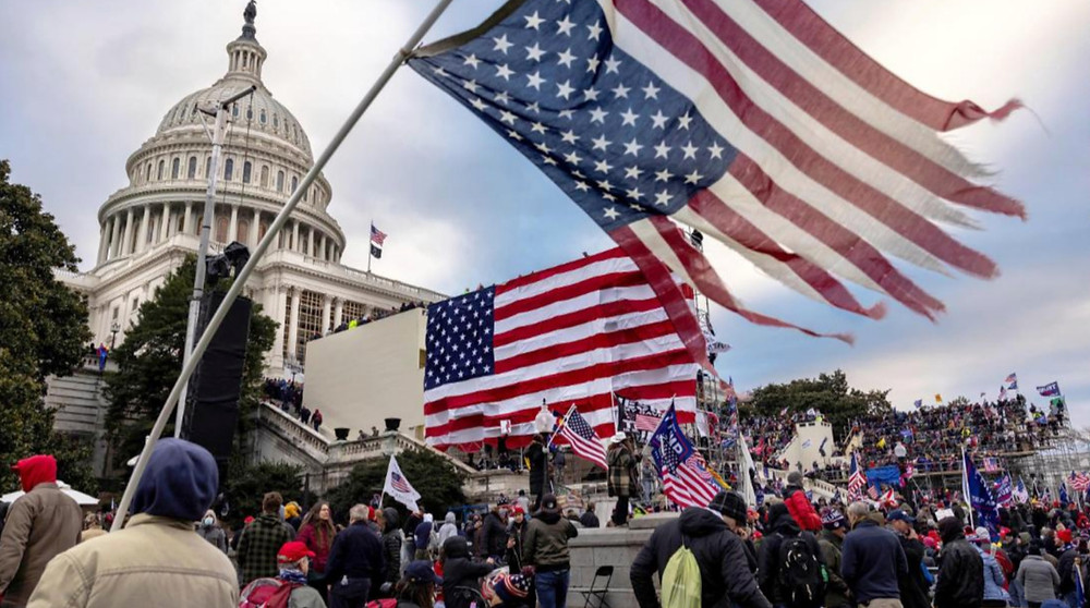 Democracy in Tatters; the Capitol on January 6th