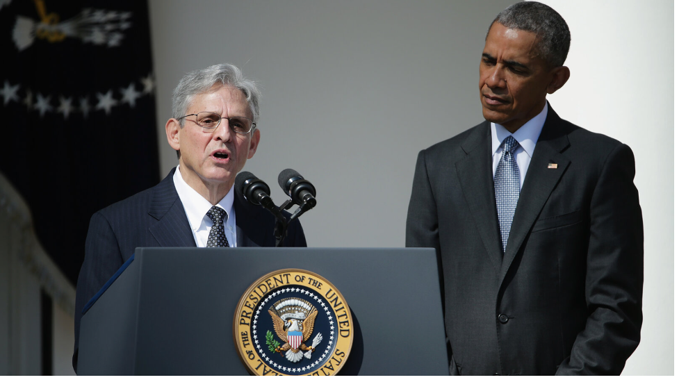 Obama nominated Garland to the Supreme Court in March 2016, but the GOP-controlled Senate blocked the vote