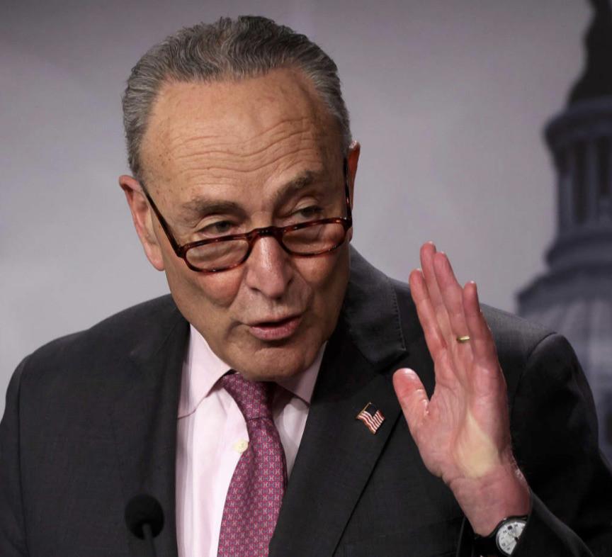 Move over, Mitch: Democratic leader Schumer is championing gun control