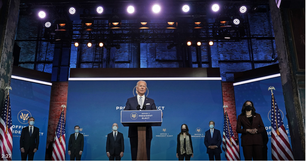 President-Elect Biden introduces the nominees for his national-security team