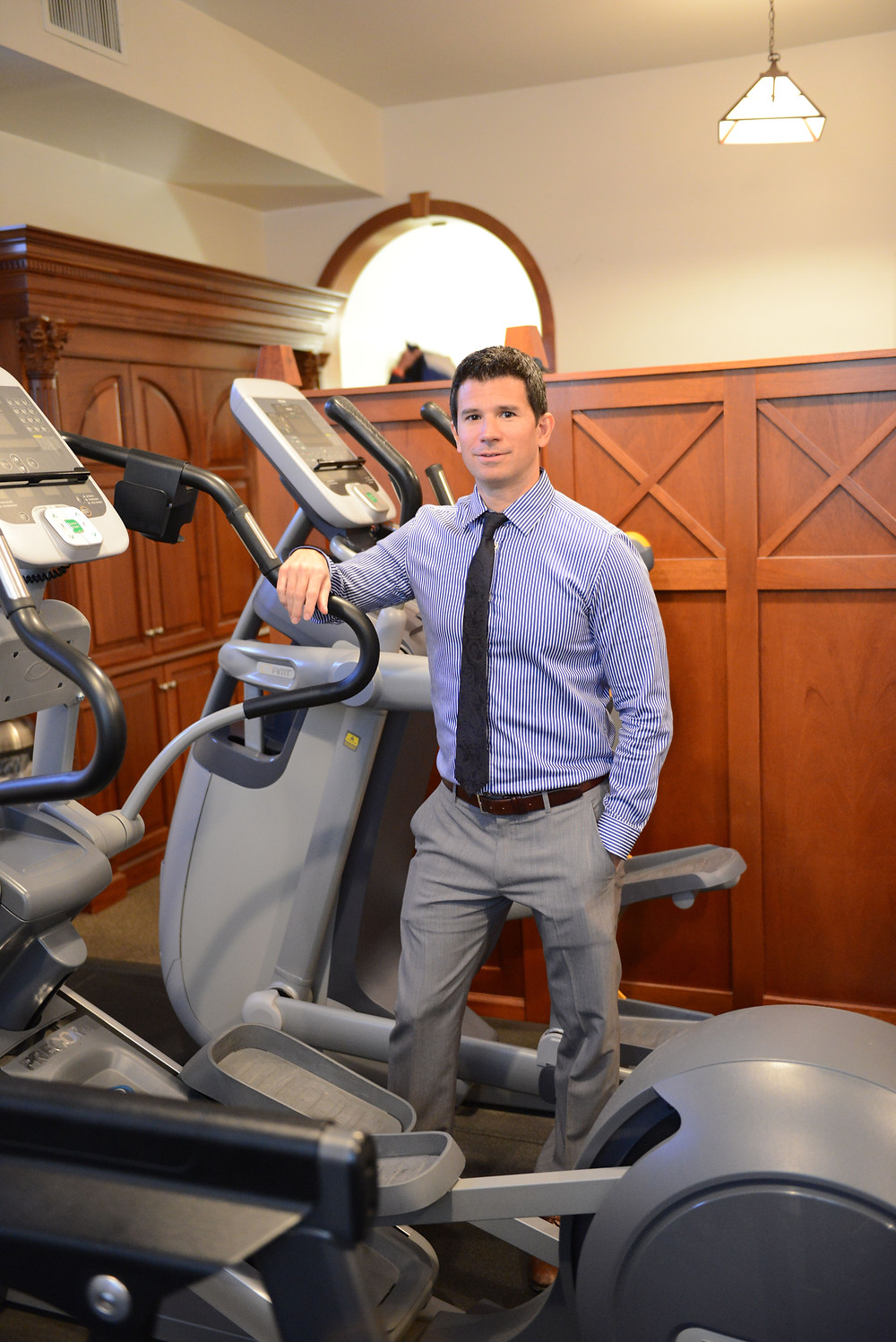 Physical Therapist Charles Polit