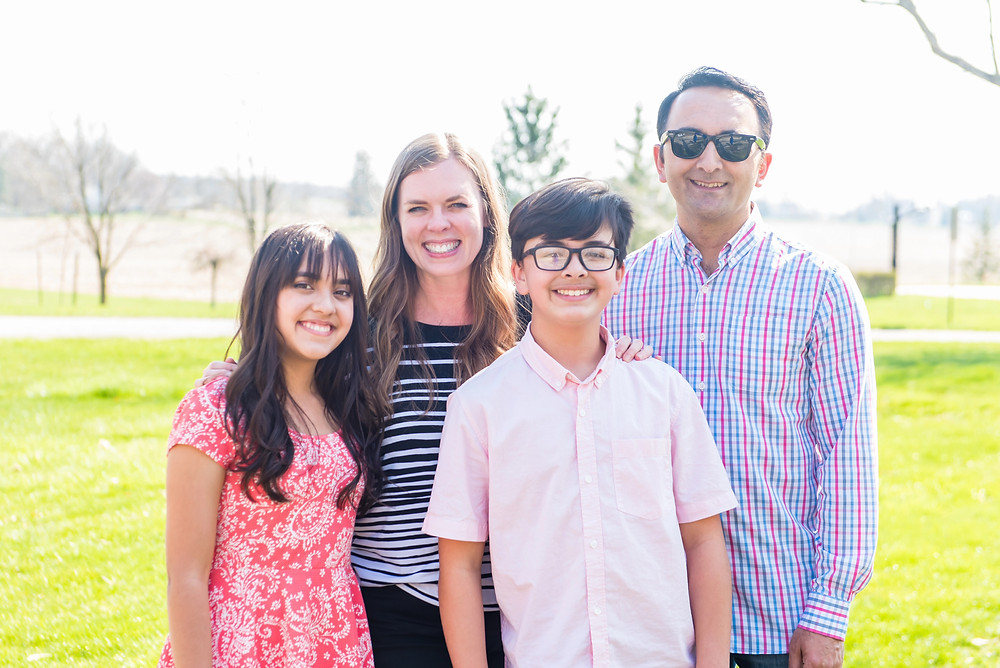 The Karki family is now 100% vaccinated and are enjoying a freer lifestyle