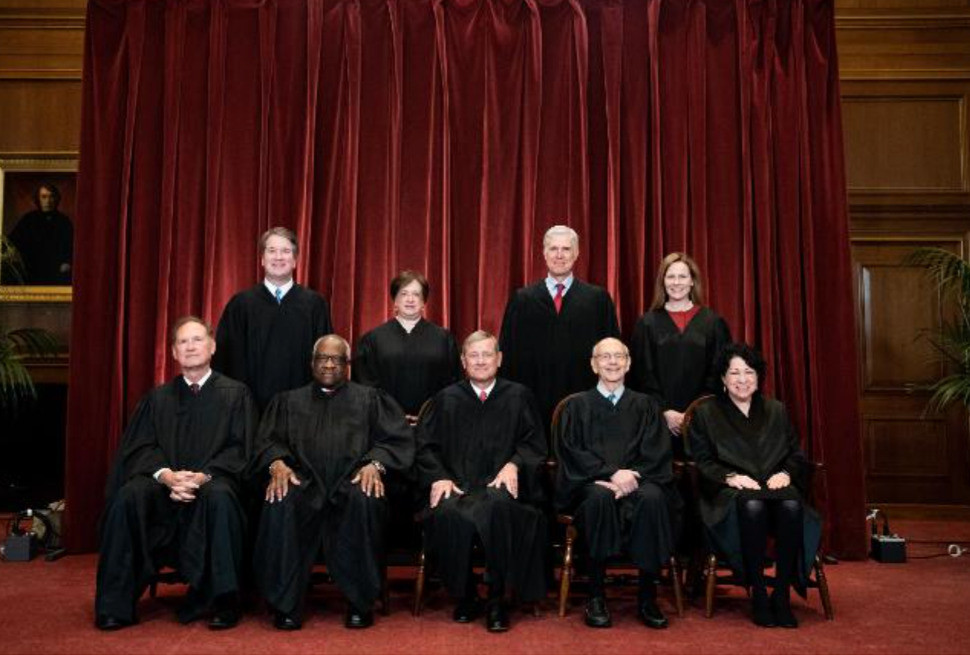 The Supreme Court now has a 6-to-3 conservative majority