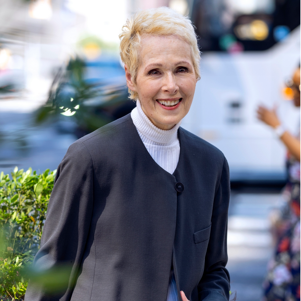 Columnist E. Jean Carroll, who accused Trump of raping her in the 1960s