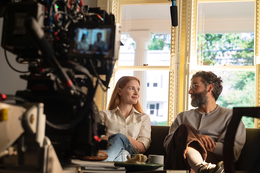 On the set of Scenes From a Marriage (2021)