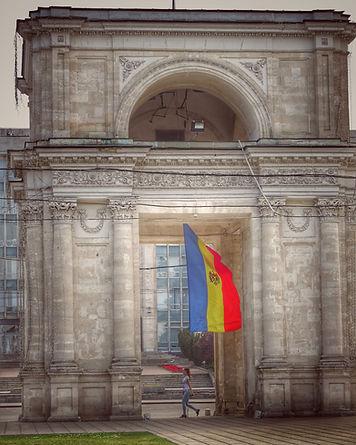 Chisinau, Moldova has many sights, squares and parks