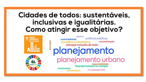 Planejamento é a ferramenta que garante a cidade de todos