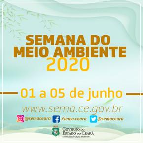 SEMA celebra Semana do Meio Ambiente com programação virtual