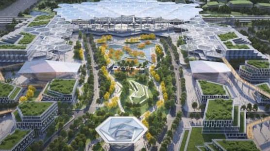 """Tecnológica, industrial e sustentável. A """"cidade do futuro"""" que vai nascer na China"""