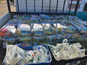 CSP doa 690 cestas básicas a 9 comunidades de São Gonçalo do Amarante e Caucaia