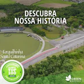 Forquilhinha é reconhecida entre os 100 destinos sustentáveis do mundo