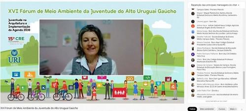 Idéia: Fórum do Meio Ambiente da Juventude debate ações sustentáveis em sociedade