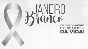 Campanha Janeiro Branco alerta sobre importância da saúde mental