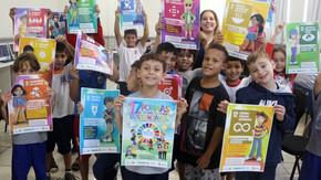 Crianças de Criciúma - SC conhecem desafios do desenvolvimento sustentável