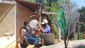 Sem acesso à água, famílias do Interior do Ceará escolhem entre matar a sede e se proteger da Covid