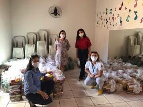 AECIPP promove mais uma entrega de cestas básicas para famílias da região do Complexo do Pecém