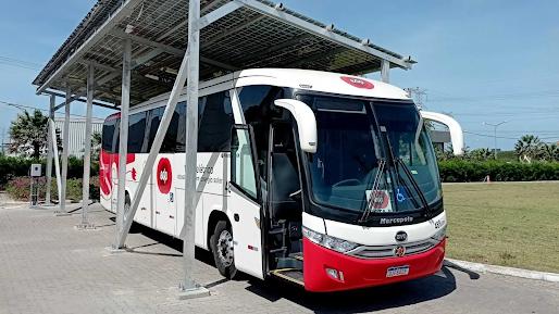 EDP desenvolve primeiro ônibus elétrico movido a energia solar do Brasil em São Gonçalo do Amarante