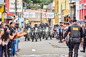 Viçosa do Ceará comemora chegada do Batalhão Raio e sistema de videomonitoramento