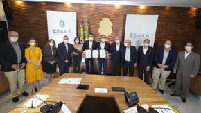 Governo do Ceará assina acordo com Qair Brasil para desenvolver projetos de energias renováveis