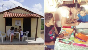 Jovens e agricultores se unem e abrem bibliotecas na zona rural da Paraíba