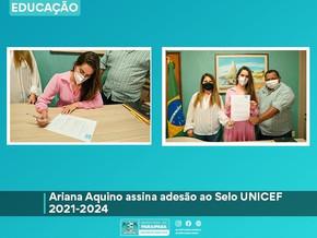 Paraipaba-CE assina adesão ao Selo UNICEF 2021-2024