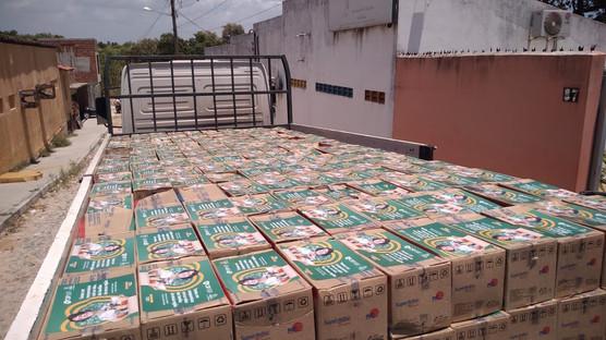 CSP já beneficiou 2.800 pessoas com cestas básicas em comunidades de São Gonçalo do Amarante, com pr
