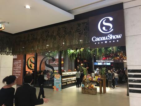 Mega store da Cacau Show no Morumbi Shopping