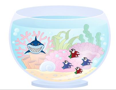 Quebre a zona de conforto da força de vendas colocando um tubarãozinho no aquário