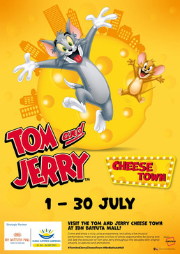 Tom and Jerry Cheese Town at Ibn Battuta Mall