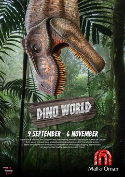 Dino World at Mall of Oman