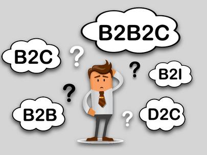 Do B ao D: B2C, B2B, B2B2C, B2I e D2C