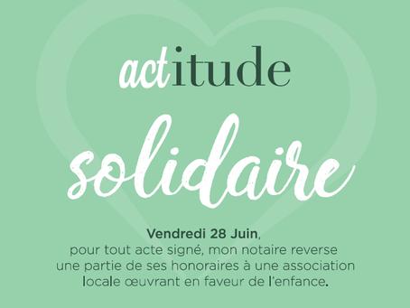 Notadon, initiative solidaire unique en France dans le secteur du Notariat