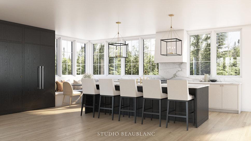 Studio Beaublanc - Cuisine Tremblant Des