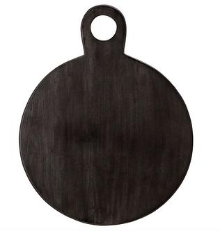 Dark Acacia wood tray
