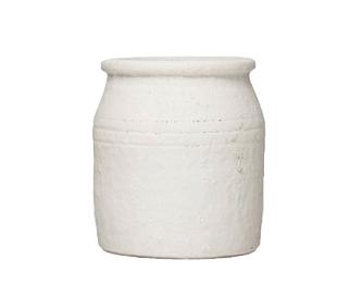 White Terracotta crock