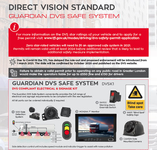 Direct Vision Standard in London - contact your local branch for further information