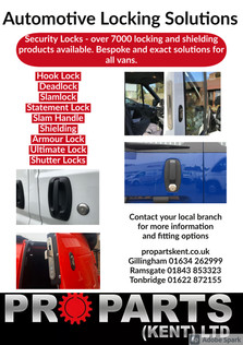 Automotive Locking Solutions - avaliable to be fitted by ProTech. Contact your local branch for more information.