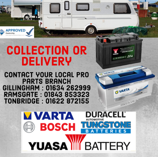 Leisure batteries - contact your local branch for pricing.
