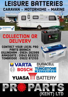 Leisure batteries - contact your local branch today for pricing