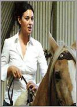 Coaching Monica Bellucci
