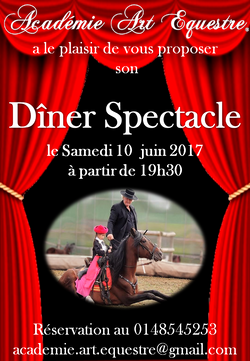 affiche diner spectacle AAE